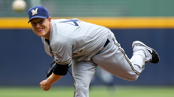 Roberson graduate Chris Narveson was formerly a pitcher for the Milwaukee Brewers.