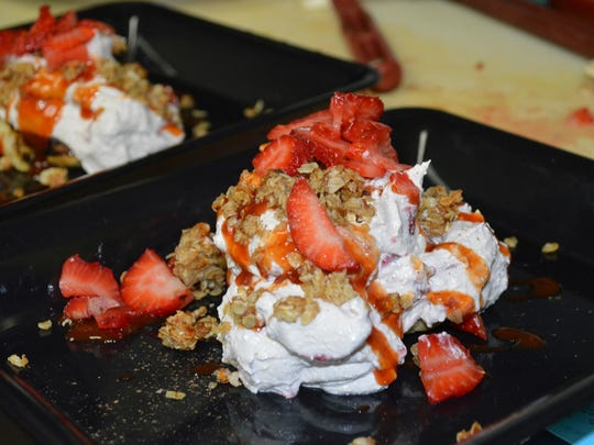 Chef Jason Blastic of The Soup Spoon Café, created this winning dessert in the VOA Michigan Chef's Charity Challenge.