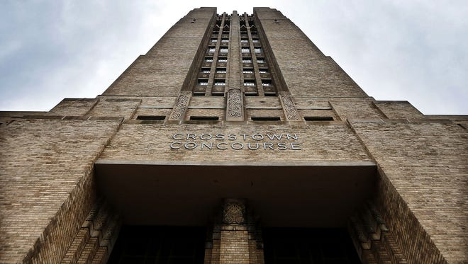 Plans for the four-story tower at Crosstown Concourse include an apartment for the building owner, an event space for rent that offers 38 foot ceiling and 360 degree views and two office spaces that will be leased out.
