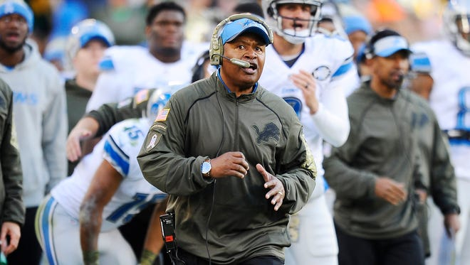 Jim Caldwell will join Bob Quinn in the Lions' draft room.