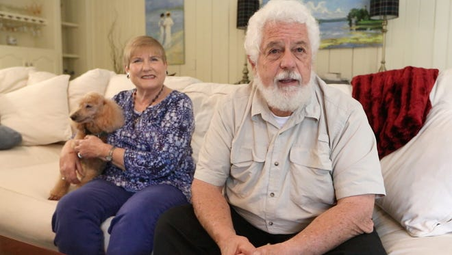 Jo Stepp-Greany and her husband Patrick got a medical scare last year when Mitzi, their 12-year-old miniature poodle, had elevated blood sugar levels. A veterinarian specialist found two issues, including diabetes. A Tallahassee-based company invented and manufactures the pet diabetes testing kit used to diagnosis Mitzi and hundreds of other pets.