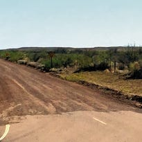 Southern road from Doa Ana County to spaceport at least a year away