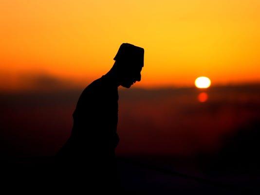 EPA PALESTINIANS ISRAEL SAMARITANS REL BELIEF (FAITH) --- WE