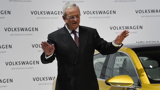 Martin Winterkorn has resigned as CEO of Volkswagen.
