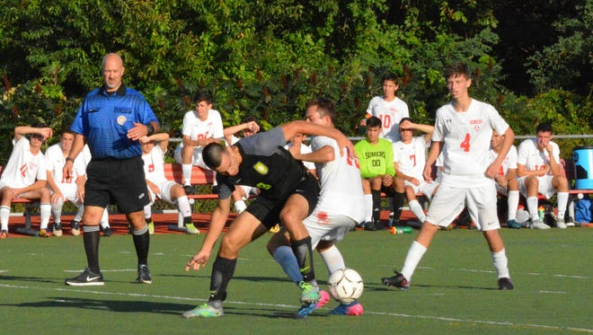 Carlos Del Monte and Lakeland are heading to Brewster, hoping to avenge an earlier loss.