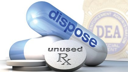 The prescription drug take-back program took in more than 700 pounds of unused prescription drugs in Doña Ana County.