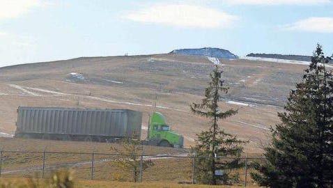 Arbor Hills Landfill has withdrawn its request to expand north of Six Mile in Salem Township.