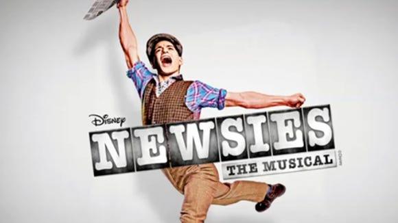 theater NewsiesOnBroadway
