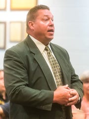 Franklin Township Police Chief Brian Zimmer, at a Buena