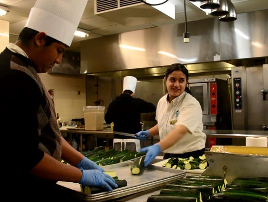 Students in the Hospitality, Recreation and Tourism