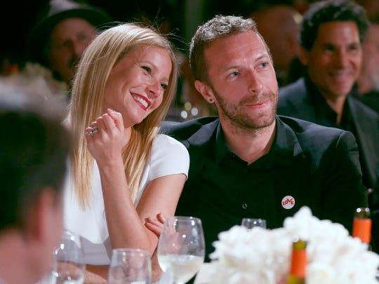 Gwyneth Paltrow and Chris Martin in January 2014.