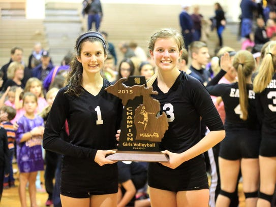 Proudly displaying the Class D regional championship