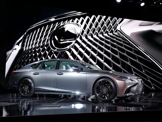 Luxury Vehicle: Lexus Ramps Up Luxury With LS Large Sedan Reveal At