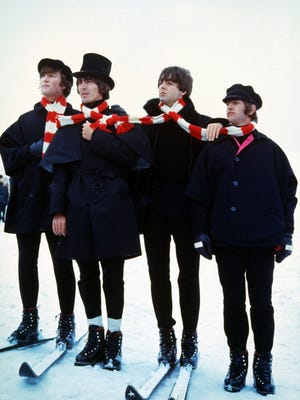 """The Beatles, from the 1965 film """"Help!"""""""