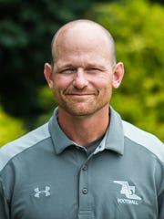 Annville-Cleona head coach Matt Gingrich