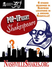 Pop-UpRight Shakespeare poster