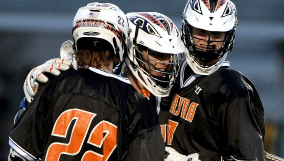 The Palmyra boys lacrosse team will look to dig itself