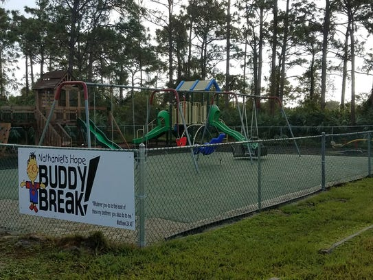 The Buddy Break Special Needs Playground is located
