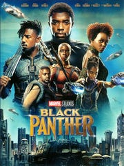"""The blockbuster """"Black Panther"""" (PG-13) will be featured"""
