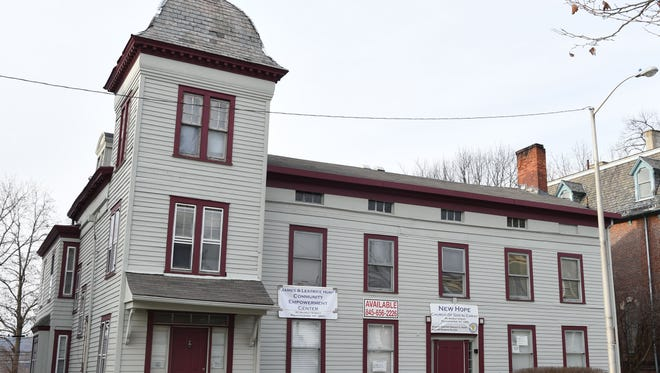 The James and Leatrice Hunt Community Empowerment Center located at 90 Market Street in the City of Poughkeepsie on Friday. The community center's ribbon cutting ceremony will take place on Saturday.
