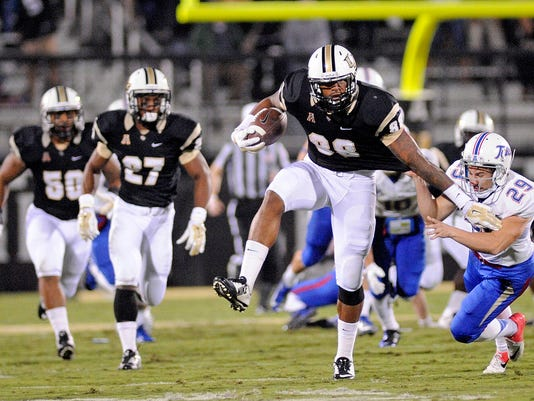 Ucf Knights Line Up Next Group Of Go To Football Players