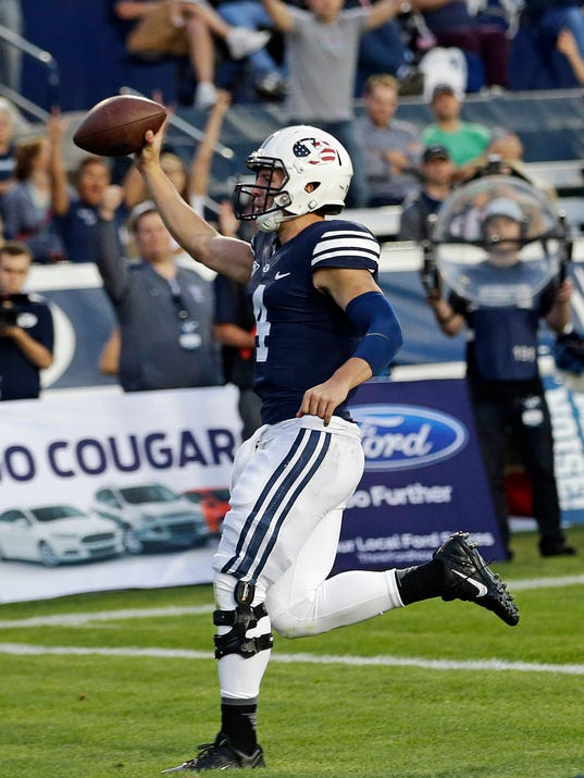 BYU Hill Takes Off Football