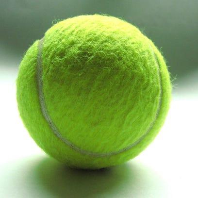 tennis ball for promo