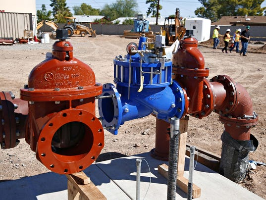 EPCOR Water well in Youngtown, Arizona