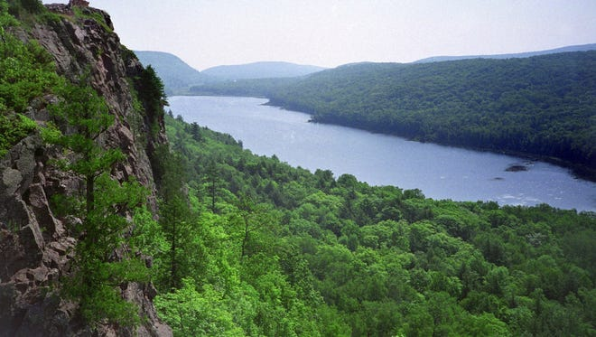 The Presque Isle River and Porcupine Mountains are the major attraction at Wilderness State Park in Ontonagon.