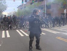 Photos: Police, protesters clash in Seattle May Day riots