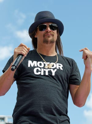 Well, there goes the Kid Rock/Eminem rap-battle debate we were hoping for.