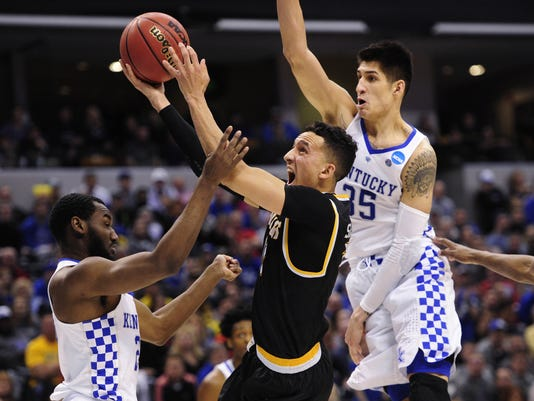 NCAA Basketball: NCAA Tournament-Second Round-Kentucky vs Wichita State