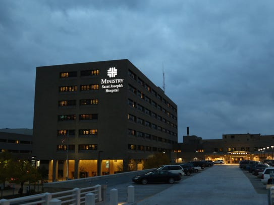 Ministry Saint Joseph's Hospital in Marshfield is shown,