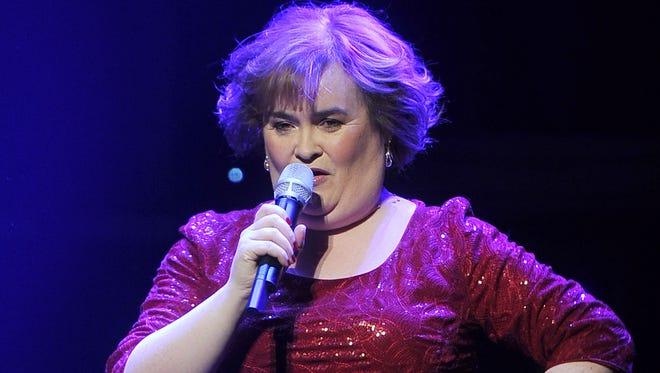 Singer Susan Boyle: April 1, 1961.