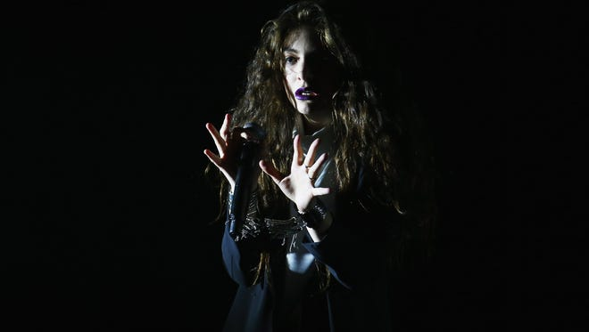 Lorde performs  at Hordern Pavilion on July 11 in Sydney.