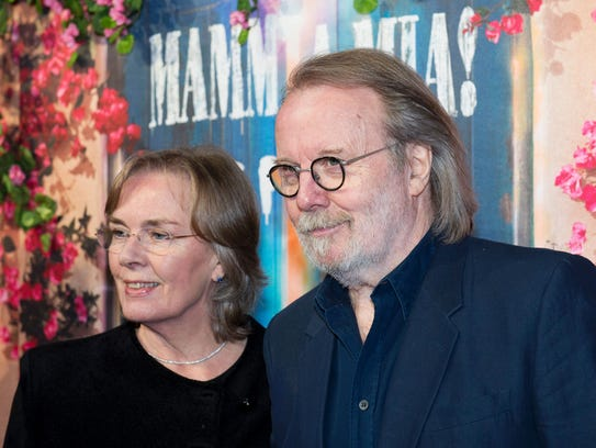 Benny Andersson of ABBA at the restaurant opening on