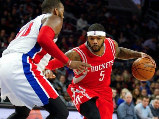 NBA: Houston Rockets at Detroit Pistons