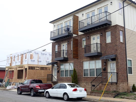 This condo project at the corner of Berry Street and Second Street was one of the developments rejected by the planning commission and then passed by Metro Council.