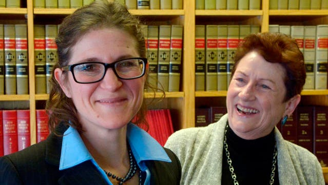 Jane Levy, left, has been appointed to replace a retiring judge in the Family Court division. Her mother, Susan Conway also served as a judge in the Second Judicial District.