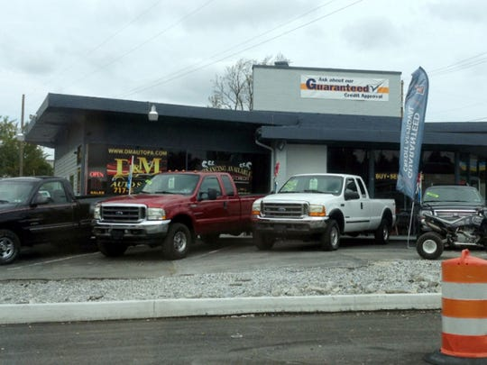 D&M Auto Sales, at 2873 E. Prospect Road in York Township, remained open more than a month following a search warrant executed by York Area Regional Police Department in September.