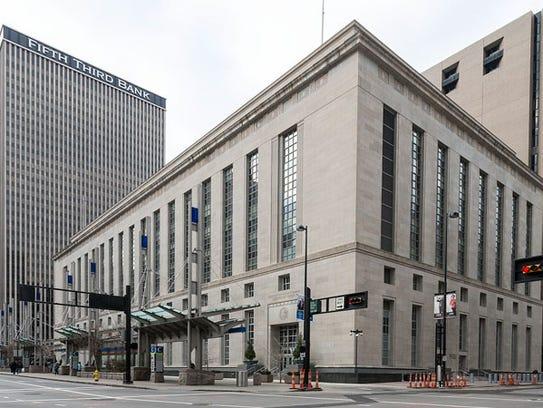 The Potter Stewart U.S. Courthouse in Cincinnati, Ohio,