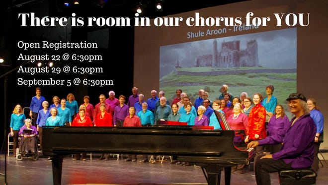 The Tallahassee Civic Chorale is looking for new singers as it begins its new season.