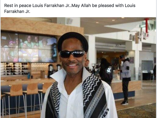 Louis Farrakhan Jr.