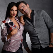 Jon Hamm, Eiza González are crazy in love as 'Baby Driver' Bonnie and Clyde