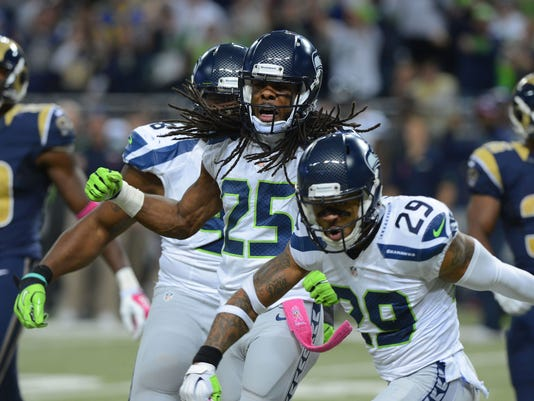 USP NFL: SEATTLE SEAHAWKS AT ST. LOUIS RAMS S FBN USA MO