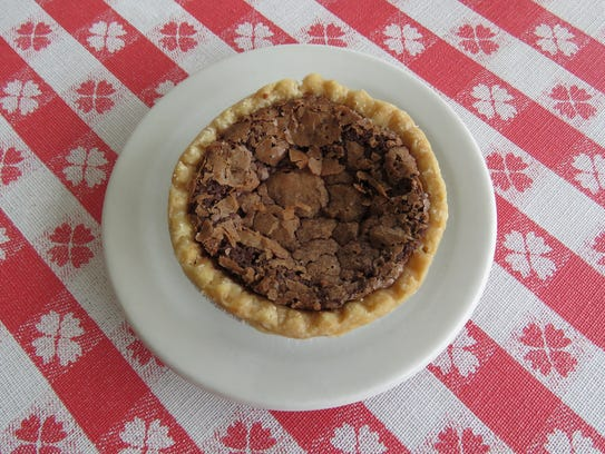 Mini chocolate chess pie from Loveless Cafe.