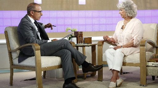 "Paula Deen talks with Matt Lauer on the ""Today"" show on June 25, 2013. Her career has been hit by multiple public relations scandals."