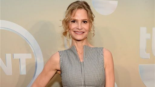 """Kyra Sedgwick poses backstage at the TNT and TBS Network 2014 Upfront Presentations at Madison Square Garden in New York. The actress will be starring in John Patrick Shanley new play """"The Danish Widow"""" on the campus of Vassar College this summer. Sedgwick, star of ?The Closer,? will play an insurance investigator in  Shanley?s play from July 16-27, which also will star Broadway veterans Craig Bierko and Matt McGrath, as well as stage and screen actress Annika Boras."""