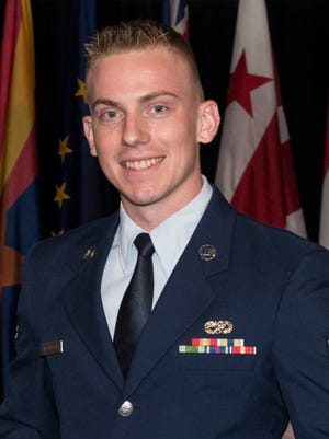 Airman 1st Class John McCulloch, a Franklin County sheriff deputy who also serves as a senior airman in the 175th Wing Maintenance Squadron, will deploy in the near future to fight ISIS in the Middle East