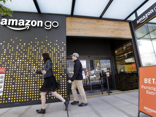 Amazon Cashier less Store
